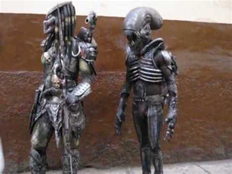 disfras de el depredador reciclado depredador y alien en el centro de lima avi youtube