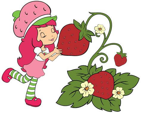 strawberry cartoon strawberry shortcake berry bitty adventures clip art