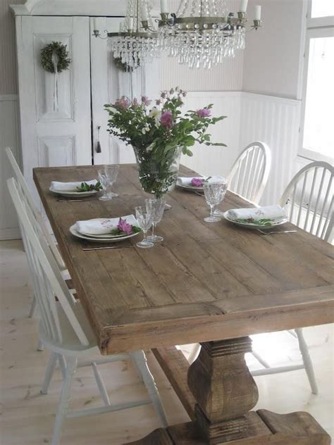 Shabby Chic Dining Room Table Beautiful Shabby Chic Dining Room Design Ideas For House