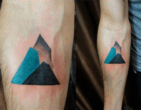 minimalist tattoo mountain how long will it take to get my new tattoo chronic ink