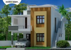 Home Design For Small Homes by Modern Contemporary Tamil Nadu Home Design