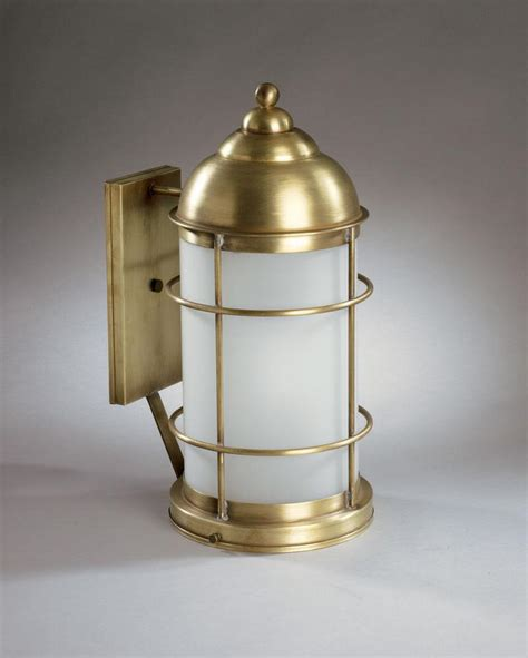 Northeast Lantern Northeast Lantern 3531 Ab Med Clr Outdoor Wall Lighting