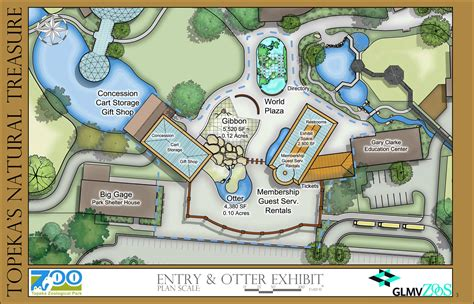 zoo layout design zoo master plan the topeka zoo