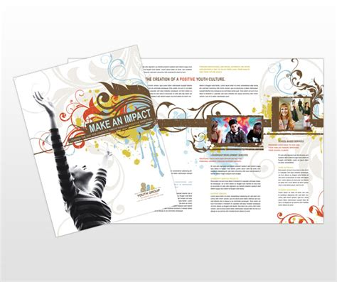 Youth Ministry Brochure Template The Best Free Software For Your Adoraghma Youth Brochure Template Free