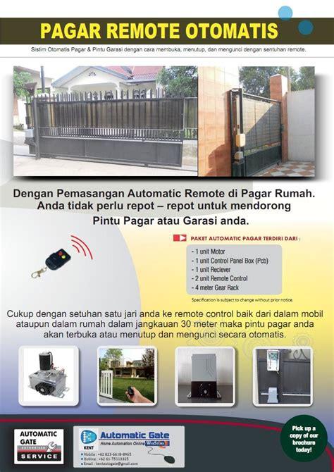 Promo Rantai Automatic pintu garasi otomatis medan