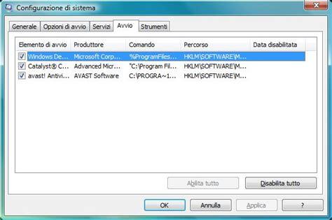 ccleaner quale scaricare programmi in avvio windows