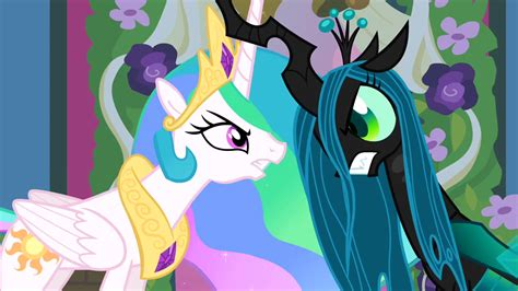 Set Gamis Frozen No 1 1 2thn image celestia and chrysalis lock horns s02e26 png my