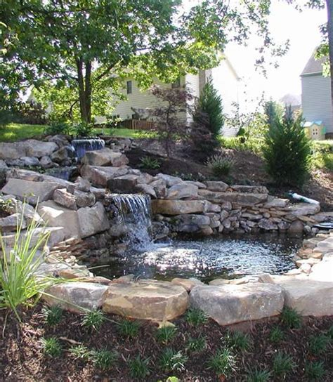 waterfall designs for backyards 22 beautiful waterfalls for natural backyard and front