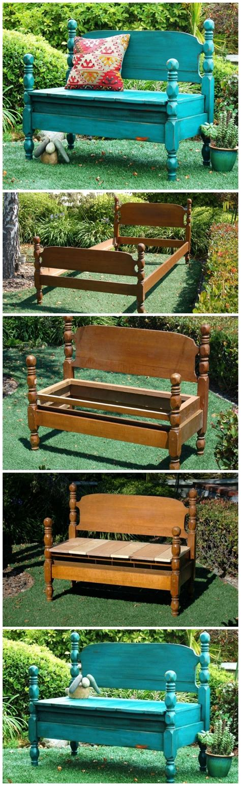 bench that turns into a bed 350 best images about upcycled furniture ideas on