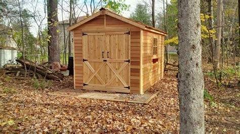 Shed Site Preparation by Cedar Shed Site Preparation Weatherwise