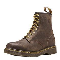 Sepatu Dr Marteens 8 Brown wing classic moc toe boot brown products i