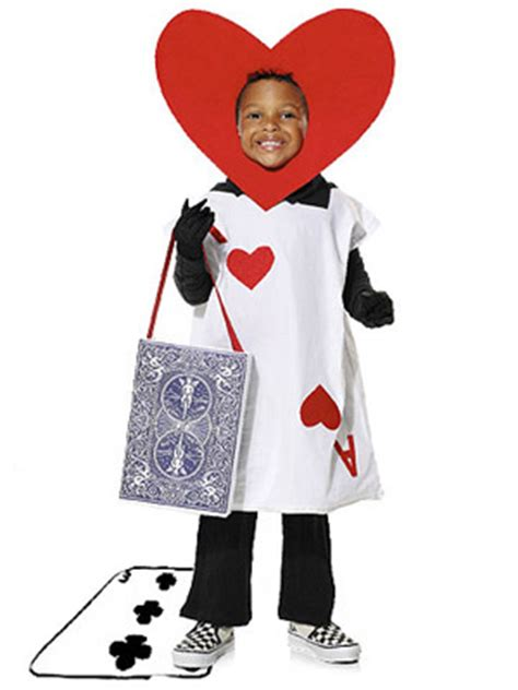 in card costume how to make and easy ace of hearts costume