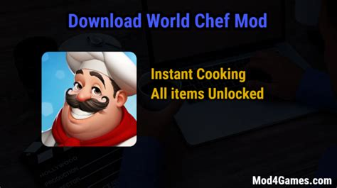 download mod game world chef world chef archives mod4games com