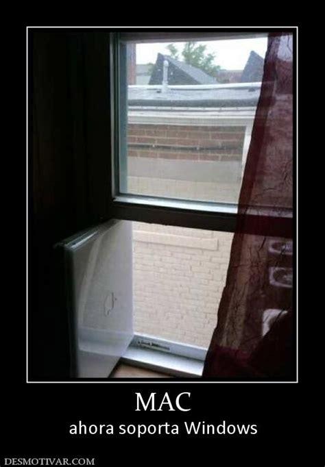 Windows Vs Mac Meme - desmotivaciones mac ahora soporta windows