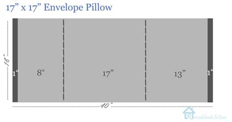 How Much Fabric Do I Need To Cover A by Remodelando La Casa Diy Envelope Pillows With