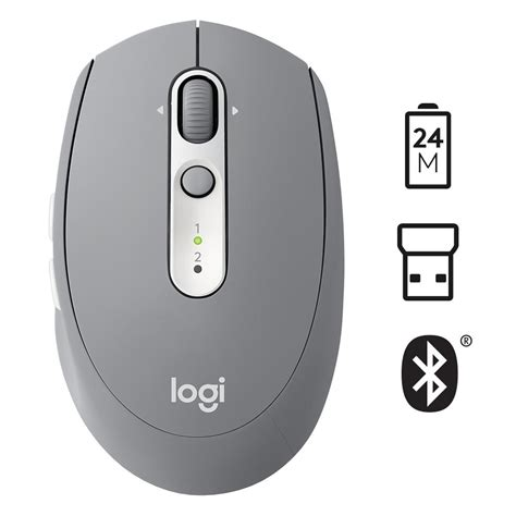 Logitech M585 Wireless Mouse logitech wireless mouse m585 multi device with