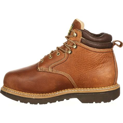 comfortable steel toe lehigh steel toe internal metatarsal 6 quot work boot men s
