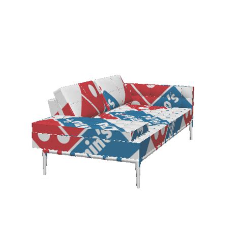 couch pizza dominos couch