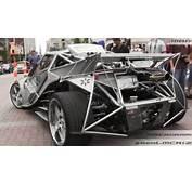 CRAZY Custom Built Car  Brutus IOUS V8 Turbo W/ Porsche