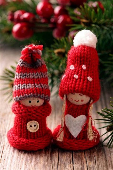 knitted christmas decorations knitted decorations home decorating ideas