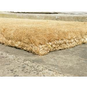 thick heavy duty coir door mats from coir mats co uk