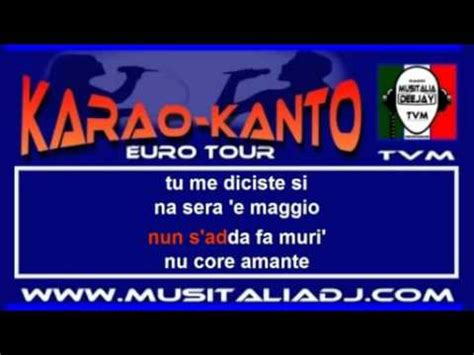i te vurria vasa testo canzoni napoletane i te vurria vas 224 karaoke doovi