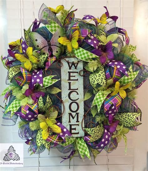 spring butterfly wreath artificialchristmaswreaths com 85 best mesh wreaths images on pinterest christmas