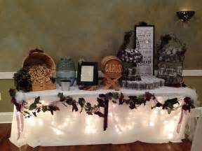 wine theme wedding gift table wedding ideas