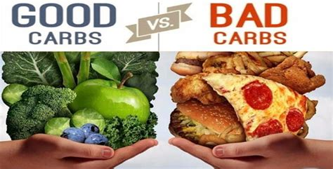 carbohydrates or bad losing weight can be learn the carbs from the bad