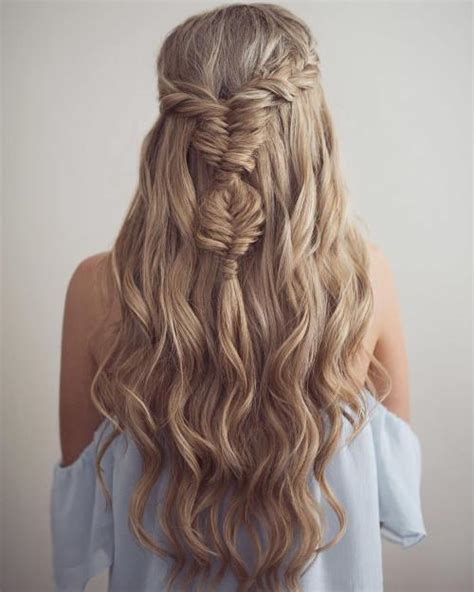 half up half down daily hairstyles gallery hairstyles half up half down for long hair