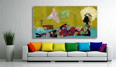 Bild Wohnzimmer Leinwand by Leinwandbilder F 252 R Eine Kreative Wohngestaltung