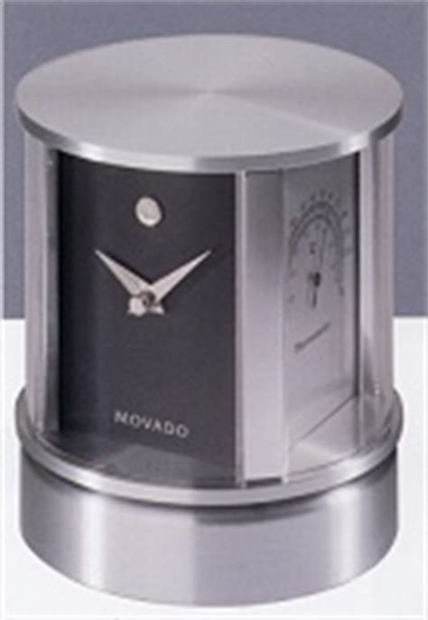 Rotating Water Powered Multifunction Clock by Movado Desk Clocks Clocks Rotating Multi Clock Tsi