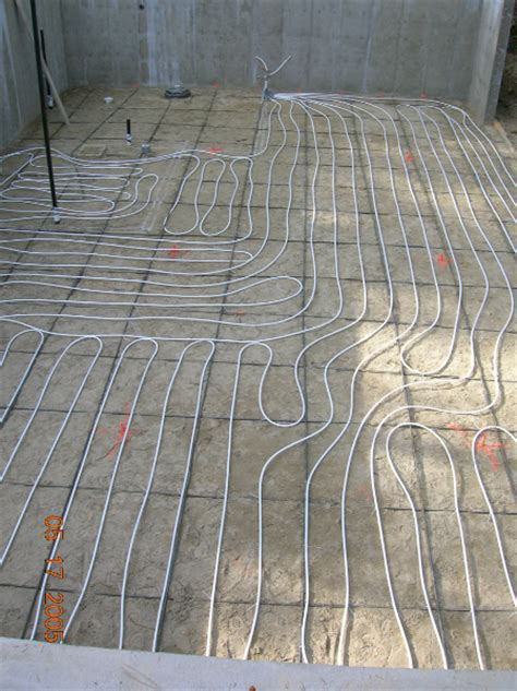 photos of pex pipe kennell s radiant heat
