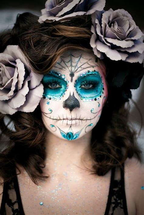 halloween hairstyles day of the dead day of the dead day of the dead makeup ideas pinterest