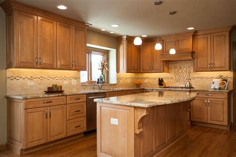 Handcrafted Cabinetry - marvelous maple custom cabinetry in naperville