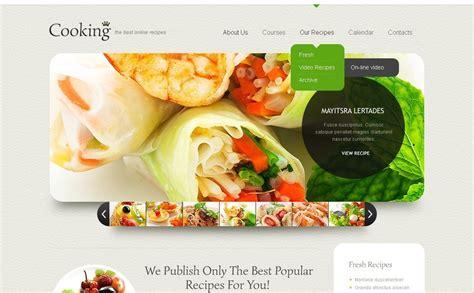 Cooking Website Template 40597 Cooking Website Template