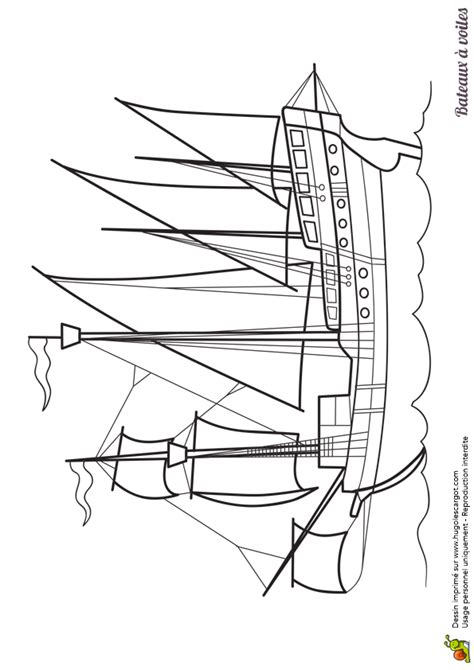 dessin d un bateau à voile dessin 224 colorier d un bateau 224 voiles un galion