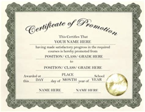 certificate of promotion template pin sunday school certificate template pdf on