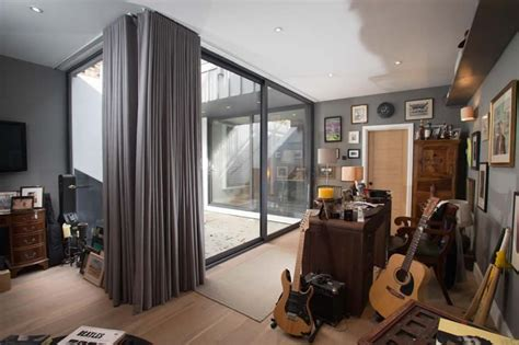 curtains  bifold doors window treatments  bifold doors