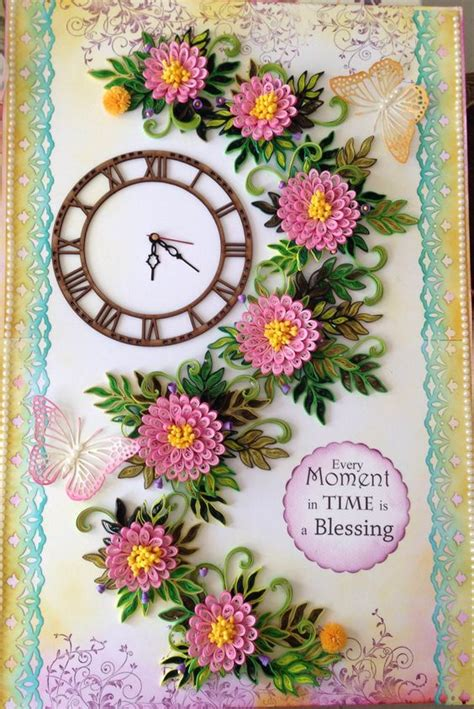 How To Make Paper Quilling Frames - paper quilling wall clocks paper quilling