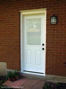 Exterior Doors With Built In Blinds Our House Our Home Notebook