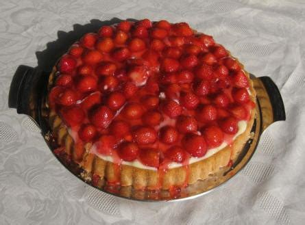 erdbeer vanillepudding kuchen erdbeer kuchen mit pudding gelatine rezepte m haditec
