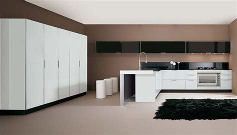 sleek kitchen designs picture of sleek glossy kitchen design