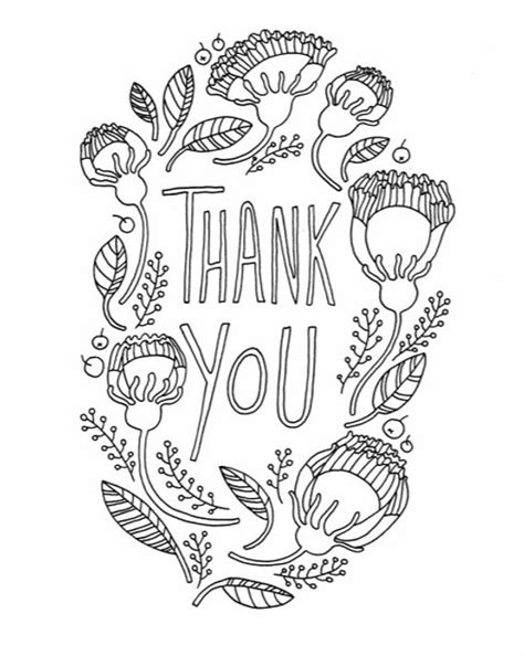 thank you card template pages diy thank you card for s day coloring page