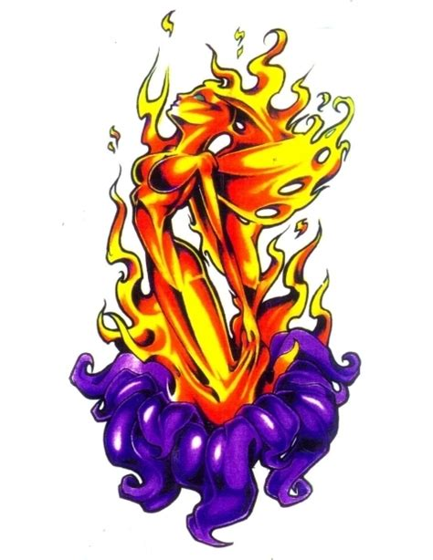 flaming rose cliparts   clip art