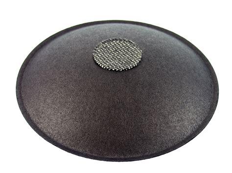 dust cap 4 375 quot speaker dust cap black paper vented altec dc 4p vent
