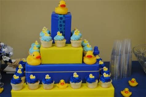 baby shower ideas rubber ducky theme
