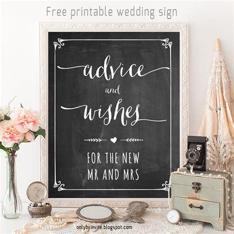 wedding signage templates 50 free and fabulous wedding printables wedding