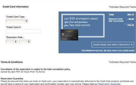 make hotel reservation without credit card hyatt visa still the best hotel credit card bonus offer 2
