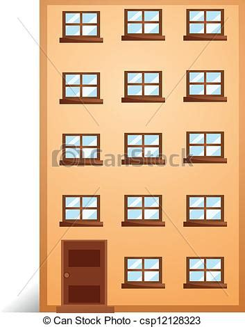draw your apartment vector illustration of an apartment illustration of a apartment on a white csp12128323